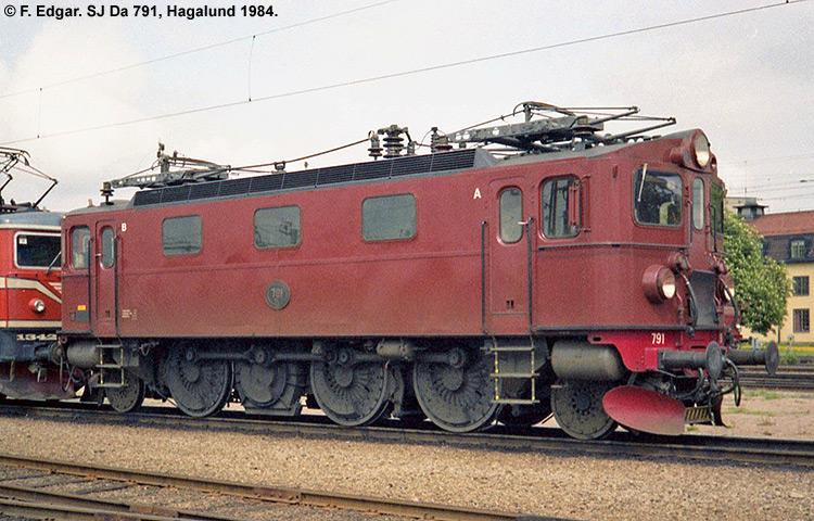 SJ Da 791