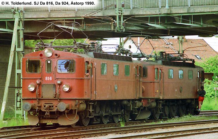 SJ Da 816