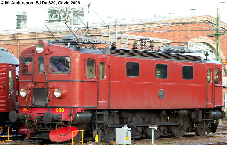 SJ Da 820