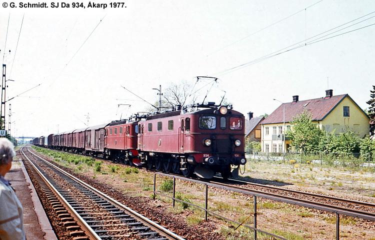 SJ Da 934