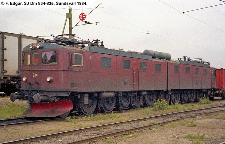 SJ Dm 834