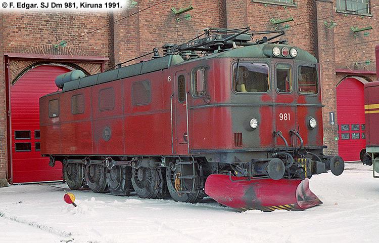 SJ Dm 981