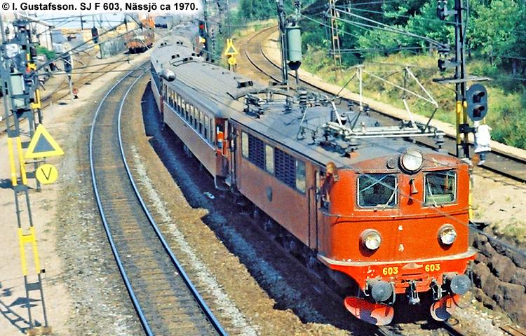 SJ F 603