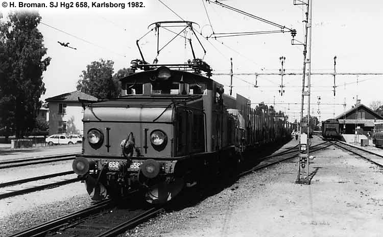 SJ Hg 658