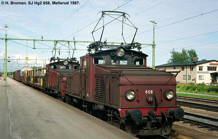 SJ Hg2 658