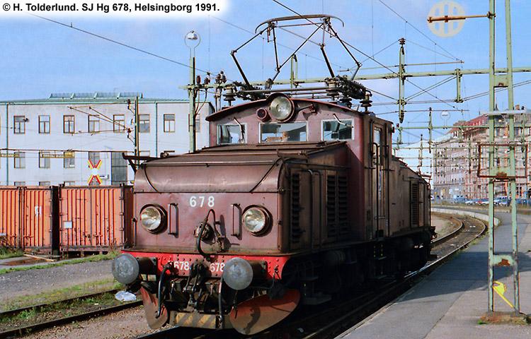 SJ Hg 678