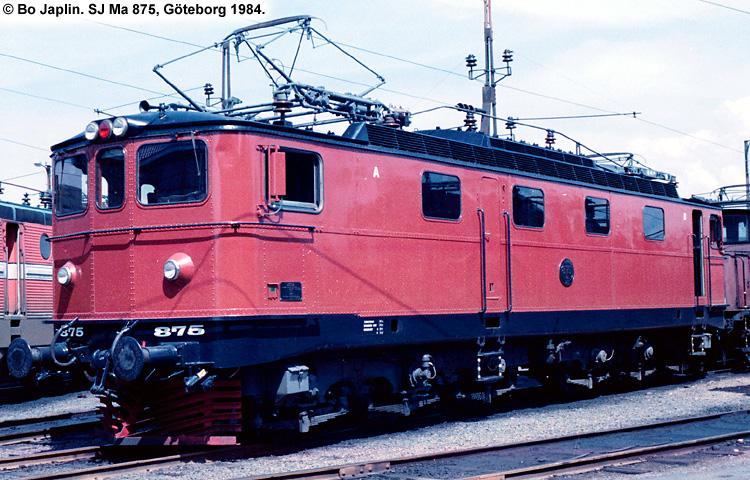 SJ Ma 875
