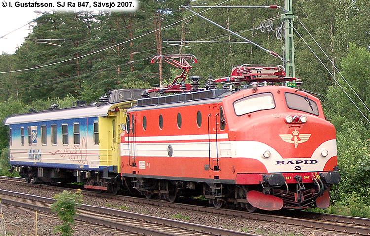SJ Ra 847
