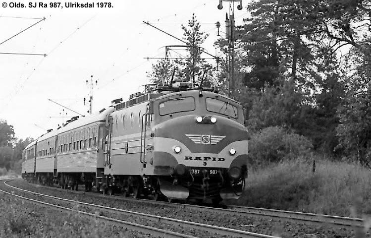 SJ Ra 987
