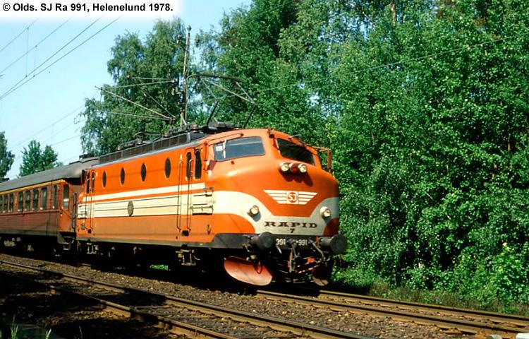 SJ Ra 991