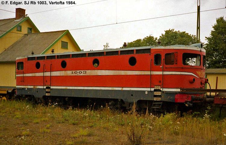 SJ Rb 1003