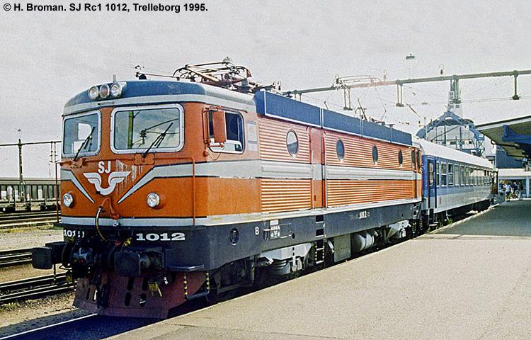 SJ Rc 1012