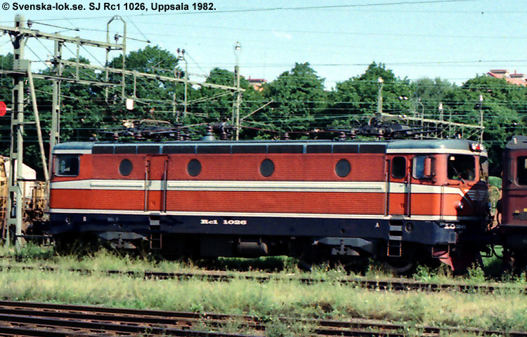 SJ Rc 1026