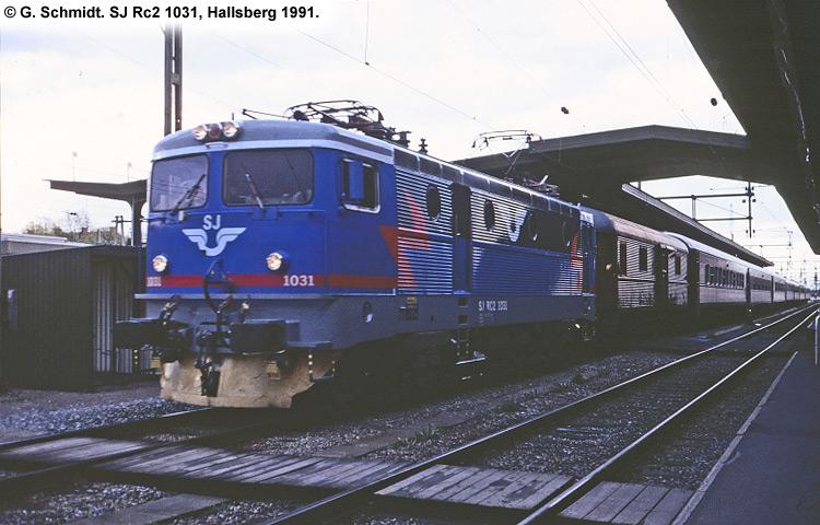 SJ Rc 1031