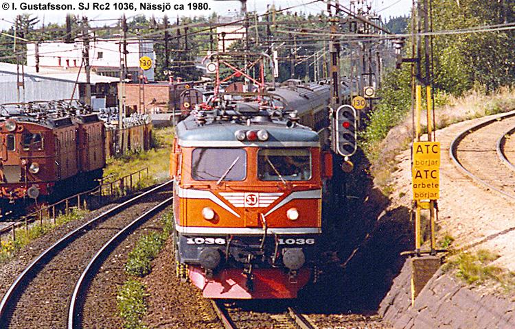 SJ Rc 1036