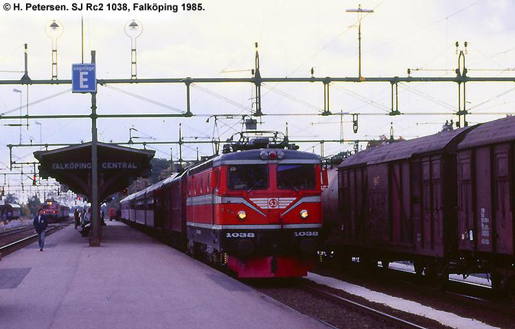 SJ Rc 1038