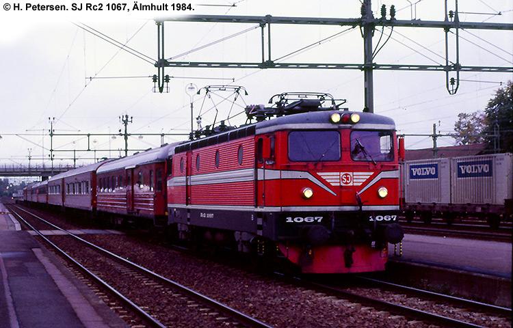 SJ Rc2 1067