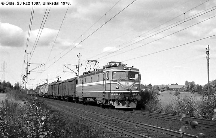 SJ Rc 1087