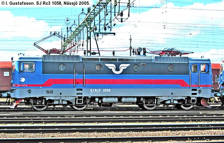 SJ Rc3 1058
