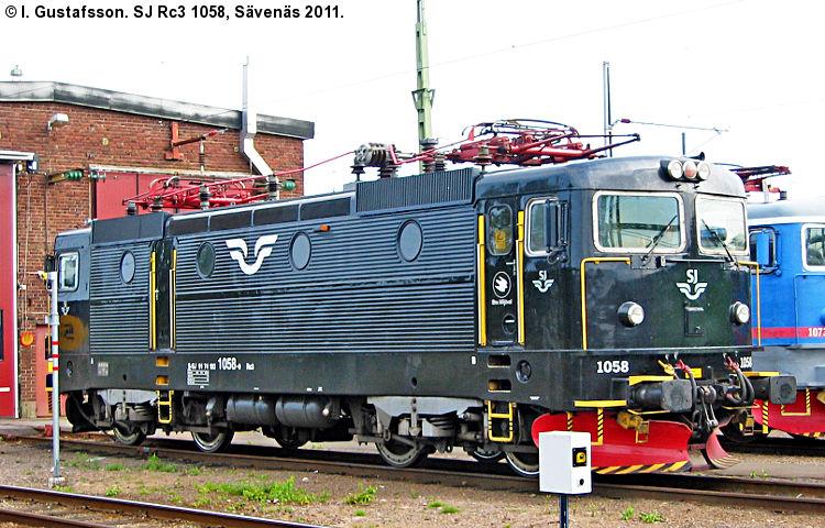 SJ Rc 1058