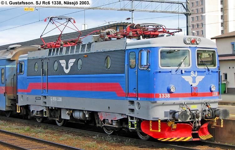 SJ Rc6 1338