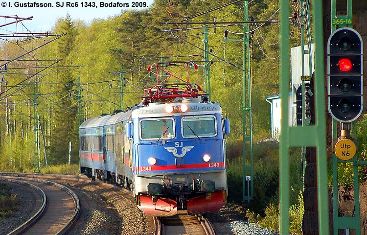 SJ Rc6 1343