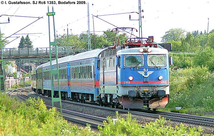 SJ Rc6 1353
