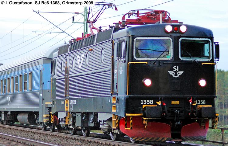 SJ Rc 1358