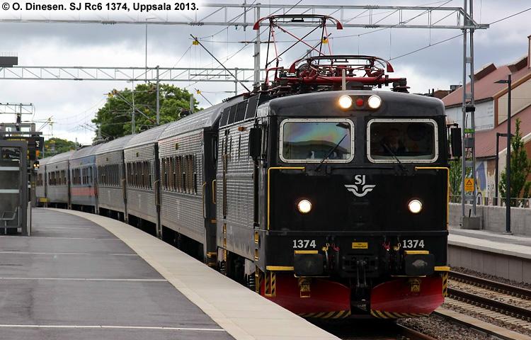 SJ Rc6 1374