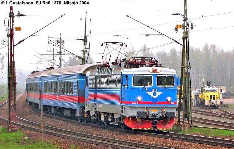 SJ Rc6 1378