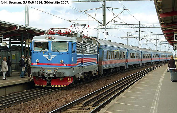 SJ Rc6 1384