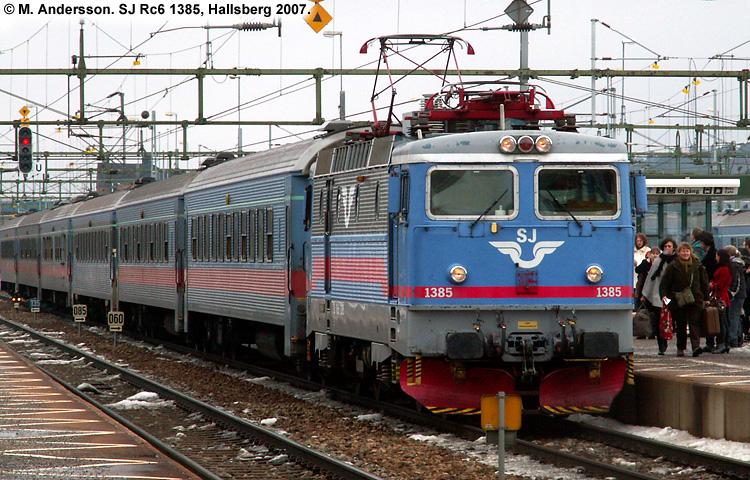 SJ Rc6 1385