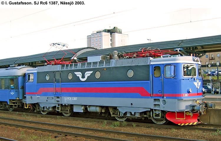 SJ Rc 1387