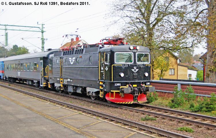 SJ Rc6 1391
