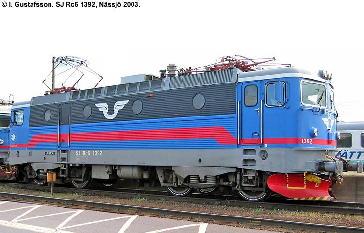 SJ Rc 1392