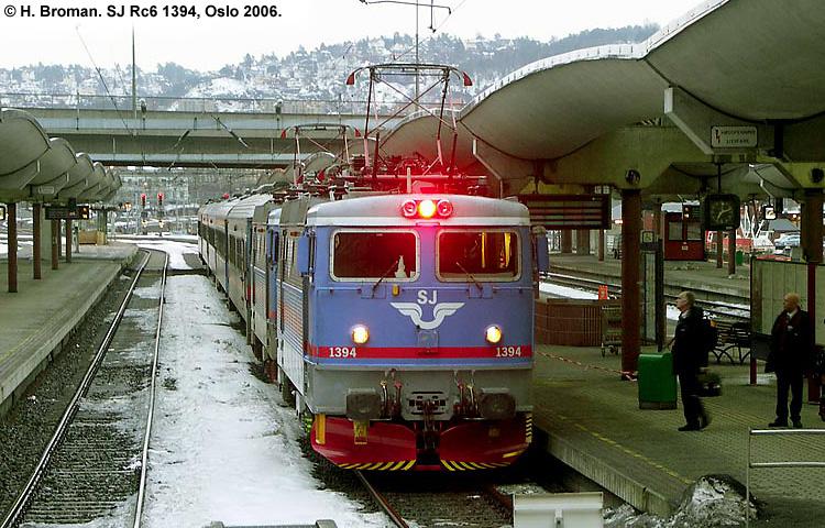 SJ Rc6 1394