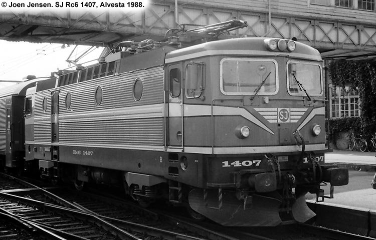 SJ Rc6 1407