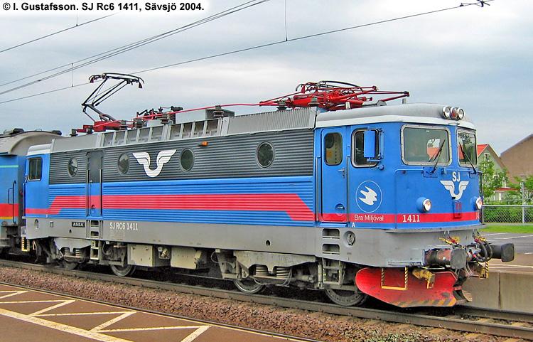 SJ Rc6 1411