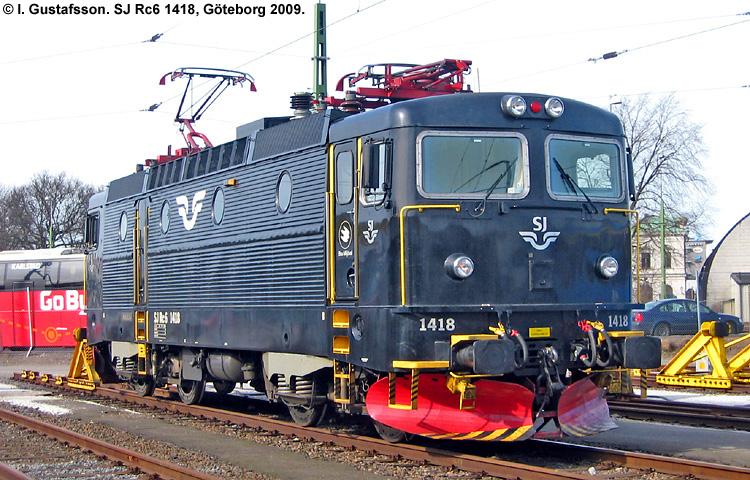 SJ Rc6 1418