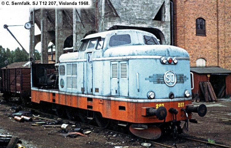 SJ T12 207