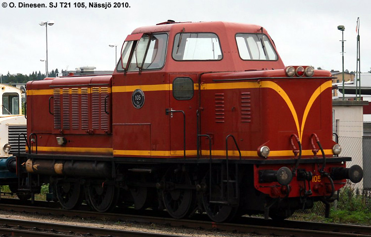 SJ T21 105