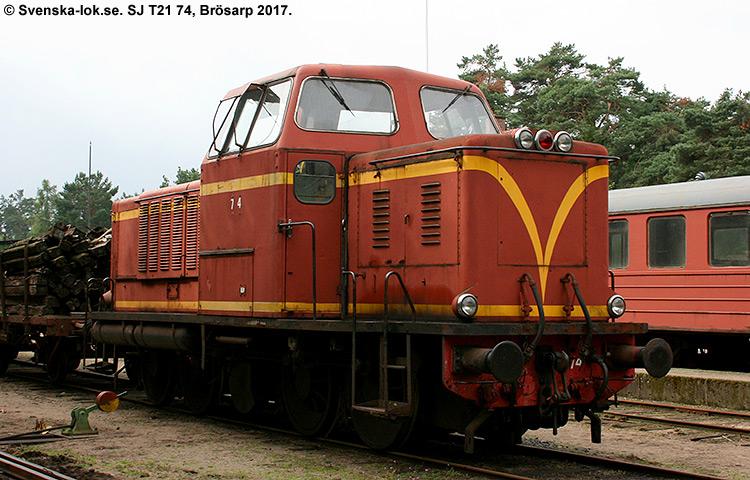 SJ T21 74