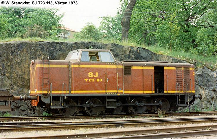SJ T23 113