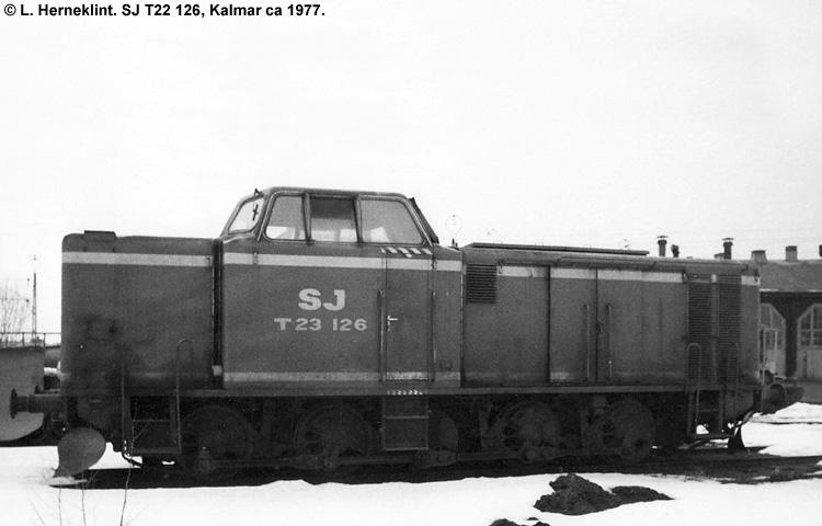 SJ T23 126
