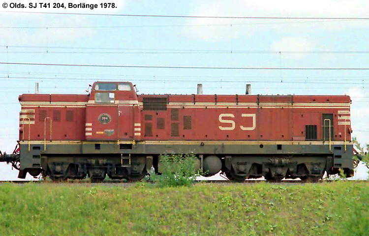 SJ T41 204