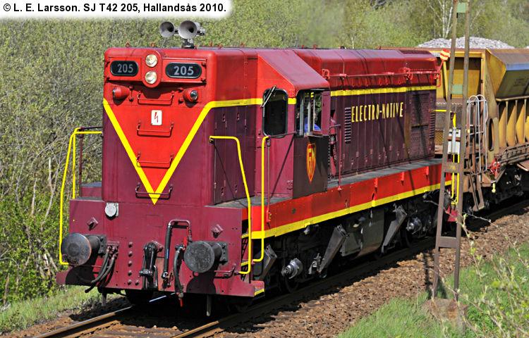 SJ T42 205 2