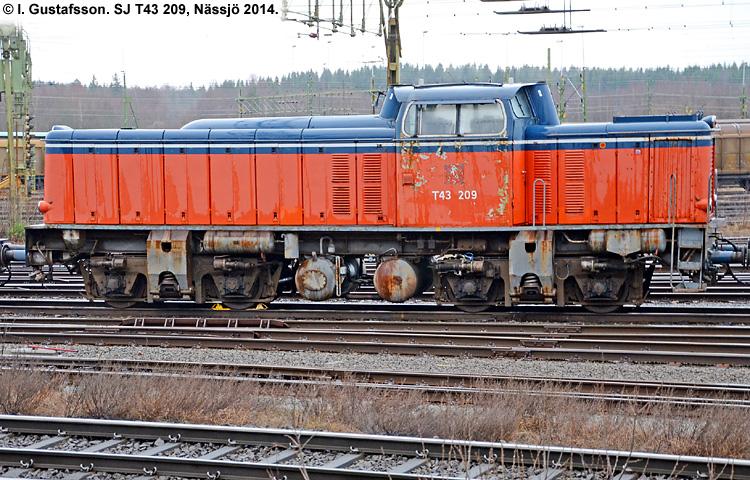 SJ T43 209