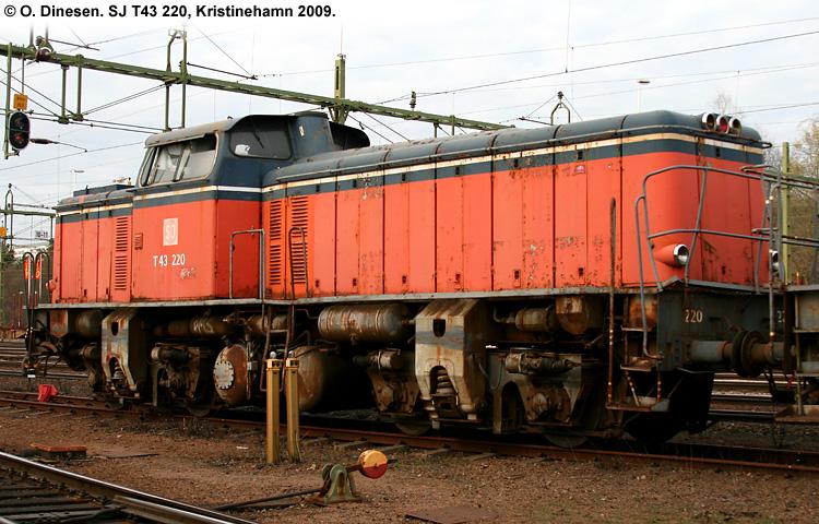 SJ T43 220