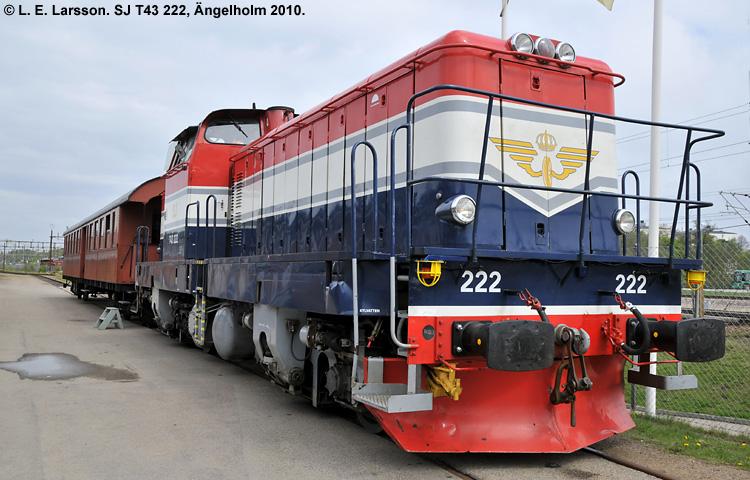 SJ T43 222