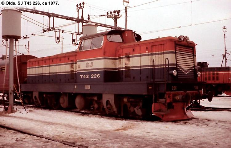 SJ T43 226